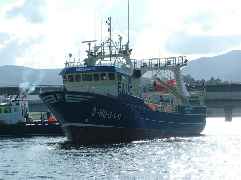 El buque congelador  Jomafran  se incorpora a la flota de Anamar ... 22d15516889